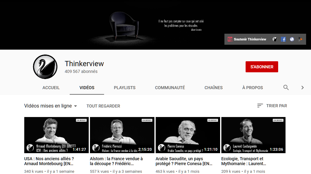 Thinkerview, pour s'informer